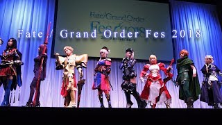 Fate/Grand Order Fes2018 Cosplay Showcase / 3rd Anniversary