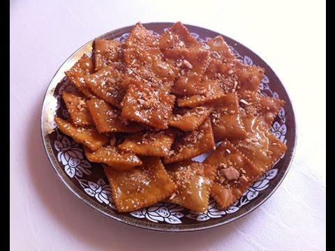 حلويات رمضانية أسهل وأسرع حلوة معسلة مقرمشة ولذيييذة Youtube