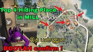 Free fire hiding places in mill bermuda tricks tamil