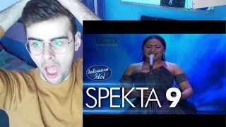 Download Lagu MARIA - NEVER ENOUGH (Loren Allred) - Spekta Show Top 7 - Indonesian Idol 2018 REACTION Mp3