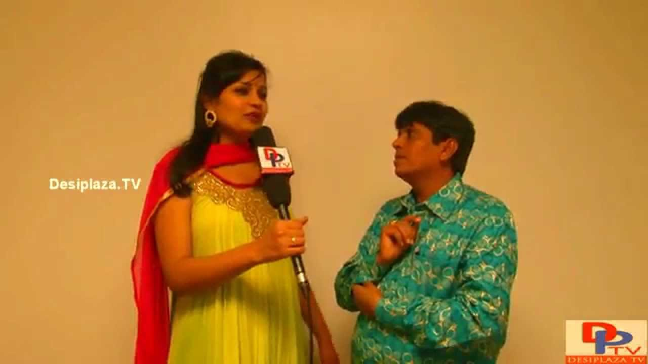 Comedian Hari Babu speaking to Desiplaza TV at TANTEX Deepavali Sambaralu