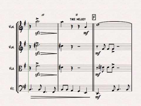 Beyond The Sea - Robby Williams ( Bobby Darin)  - String Quartet