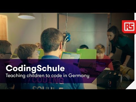 CodingSchule - Getting with the programme   RS Components