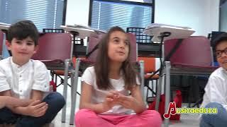 Conoce las clases de iniciación musical con el método Percubón de Musicaeduca