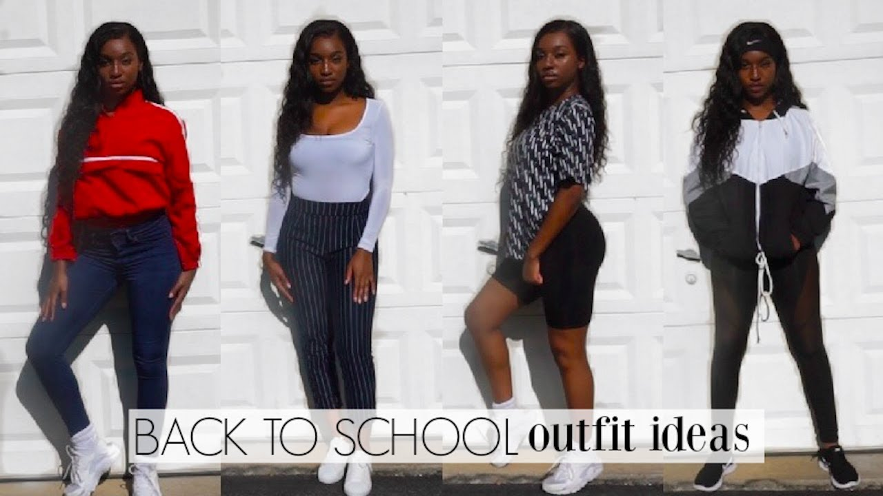 BACK TO SCHOOL OUTFIT IDEAS 2018,2019!