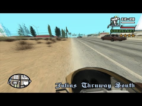 Starter Save - Part 36 - GTA San Andreas - First-Person Mod - Complete Walkthrough -achieving 13.37%
