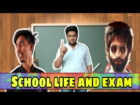School Life And Exams||sk Smart Boys #exam #student_life