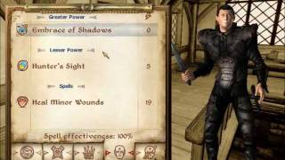 Oblivion - How to become a Vampire & their skills