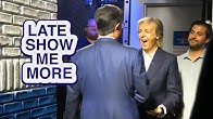 "LATE SHOW ME MORE: ""Let's Hear A Beatles Scream!"""