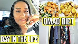 DAY IN THE LIFE / WHAT I EAT IN MY OMAD DIET + FINALY GETTING RID OF MY OLD CLOTHES