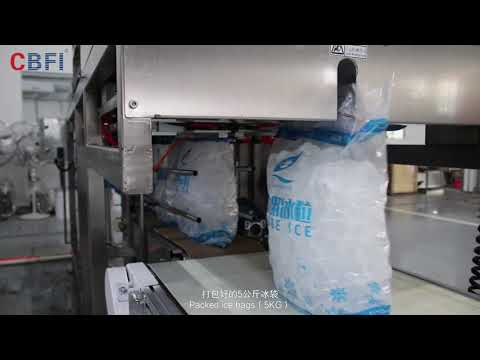 Automatic Ice Packing Machine Introduction