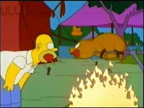 Simpsons-A magical animal