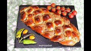 Haşhaşlı Örgü Çörek Tarifi - Tel tel ayrılan nefis bir çörek yapmak çok kolay - Çörek Tarifleri