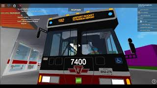 Bus Fanning at TTC Bus station (Roblox)