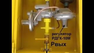 видео газорегуляторный пункт шкафной грпш