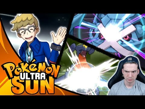 ELITE FOUR BATTLE VS...MOLAYNE?! Pokemon Ultra Sun Let's Play Walkthrough Episode 45