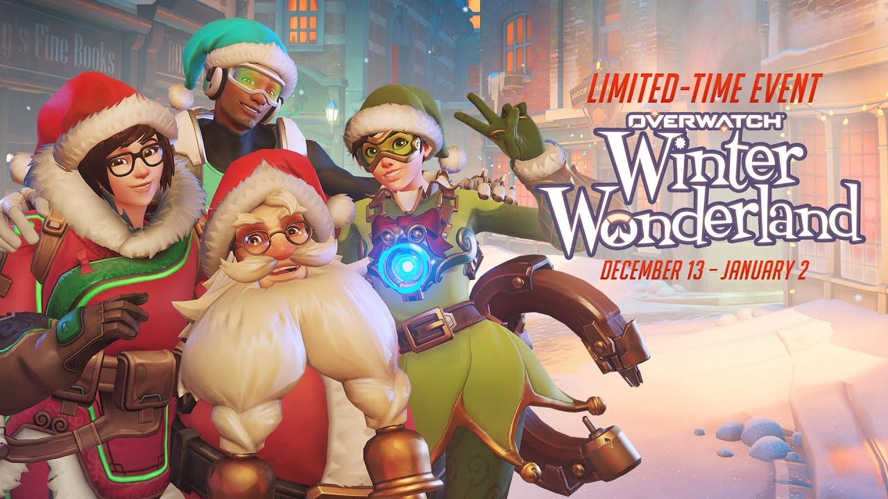 Overwatch Christmas 2019 Skins.Jingle All The Way To Overwatch S Winter Wonderland News