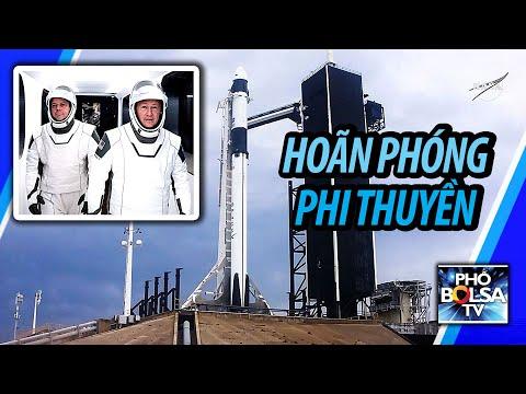 LIVE: NASA VÀ SPACEX PHÓNG PHI THUYỀN ĐƯA NGƯỜI LÊN TRẠM KHÔNG GIAN
