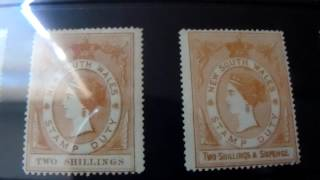 Stamp Collecting : New South Wales
