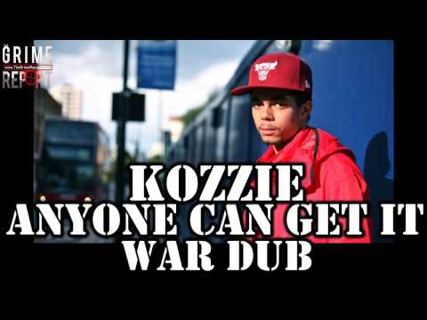 Kozzie - Anyone Can Get It (War Dub) Dissing EVERYONE!