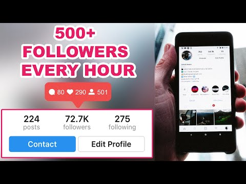How To Get INSTAGRAM Followers FOR FREE (2018) | NEW | 100% WORKING 👍