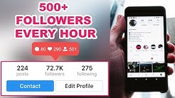 How To Get INSTAGRAM Followers FOR FREE (2018)   NEW   100% WORKING 👍