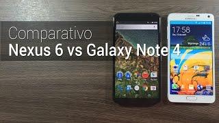 Comparativo: Nexus 6 vs Galaxy Note 4 | Tudocelular.com