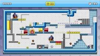 Mario vs Donkey Kong Tipping Stars #StopDrop Longest Auto! - Custom Level Spotlight 3