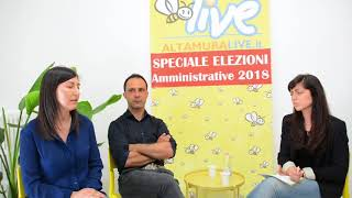 Mino Ferrulli e Cornelia Disabato - candidati consiglio comunale - Amministrative 2018 Altamura