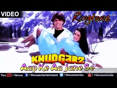 Aap Ke Aa Jane Se - New Bollywood Song Ringtone - Singer - ( Sadhana Sargam & Mohammad Aziz )