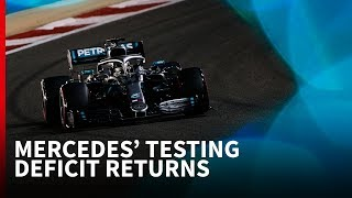 Mercedes' F1 testing deficit returns in Bahrain