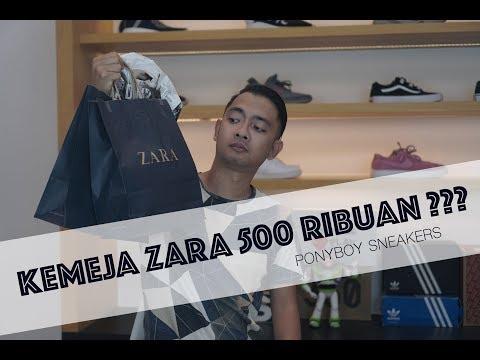 JUNI HAUL : KEMEJA ZARA 500 RIBUAN????
