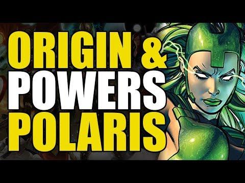 Origin & Powers: Polaris/Magneto's Daughter
