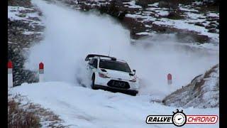 Test Rallye Monte Carlo 2019 - Loeb / Neuville / Mikkelsen - Flat Out - RallyeChrono