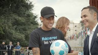 Introducing Handicap International's new Global Ambassador - Neymar Jr. !!!