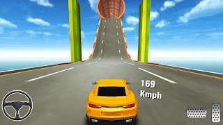 Mega Ramp Car Racing Stunts 3D - Impossible Tracks - Android Gameplay - Games for Android screenshot 2