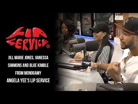 Angela Yee's Lip Service Feat. Jill Marie Jones, Vanessa Simmons and Blue Kimble from Monogamy