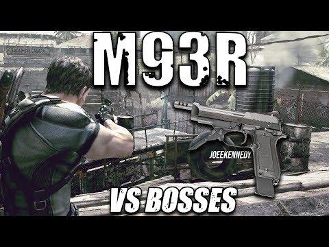 Resident Evil 5 Special Weapons: M93R (Matilda vs All Bosses)
