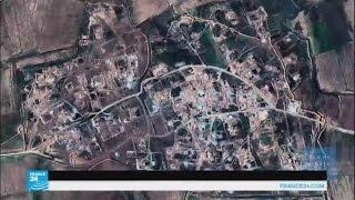 شاهد صورا بالأقمار الصناعية كيف تم تدمير قرى عربية بالعراق