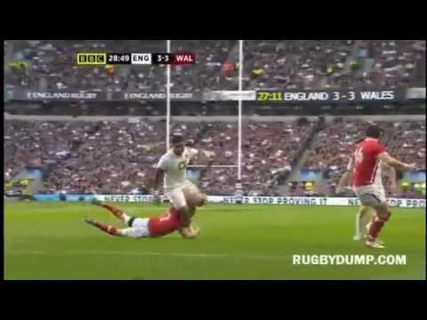 Sam Warburton tackle on Manu Tuilagi