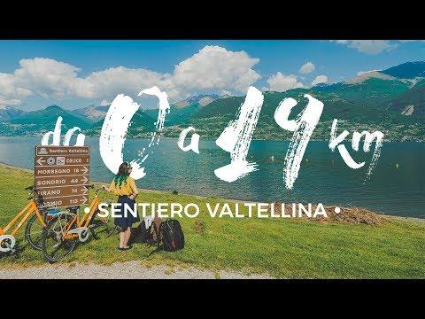 114 KILOMETRI IN BICI: l'inizio di una grande avventura! 🚴 Sentiero Valtellina ep.1