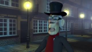 Kartun Spesial 3D Film Animasi Anak Durasi Pendek DRAKULA Hantu Menakutkan Kartun Animasi 3D
