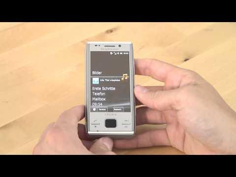 Sony-Ericsson Xperia X2 Bedienung