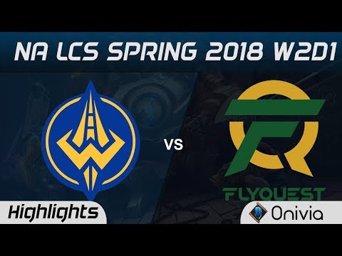 GGS vs FLY Highlights NA LCS Spring 2018 W2D1 Golden Guardians vs Flyquest by Onivia