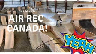 I love this place! Amazing Indoor BMX Bike Park! Air Rec Center In Canada!  @CaidenBmx