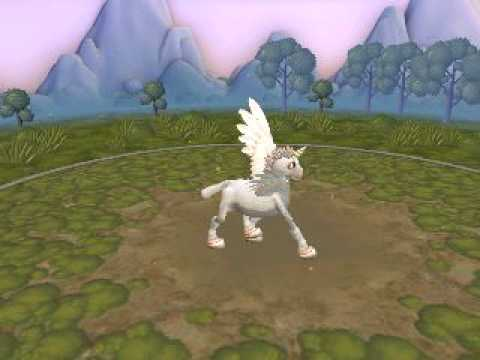 Spore Creature Creator - Winged unicorn