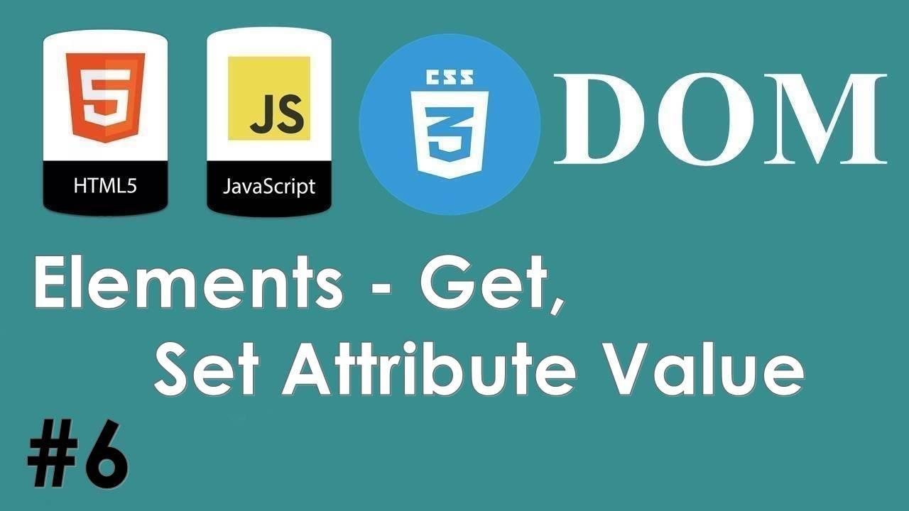 Javascript Dom Attribute Get