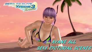 Dead Or Alive Xtreme 3: Ayane All Sexy Pictorial Scenes (Gravure Paradise)