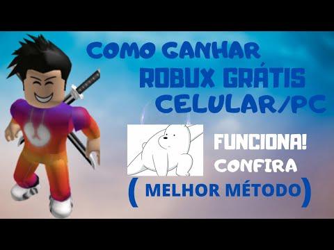 COMO GANHAR ROBUX GRÁTIS NO ROBLOX  ( PROVANDO QUE FUNFA!!) - ROBUX FREE ROBLOX thumbnail