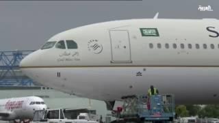 الخطوط السعودية تتسلم أولى طائراتها الجديدة إيرباص A330
